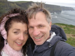 beckie weinheimer and alan kearl in ireland